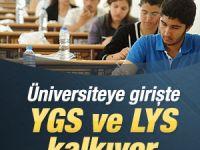 Üniversite giriş sistemi değişecek