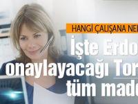 Erdoğan'ın onaylayacağı Torba Yasa'nın tüm maddeleri