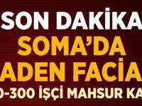 Soma'da Maden Faciası: 5 Ölü, 200 İşçi Mahsur