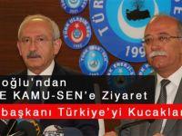 Kılıçdaroğlu'ndan Kamu-Sen'e Cumhurbaşkanlığı Ziyareti