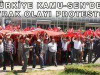 Türkiye Kamu-Sen'den Bayrak Olayı Protestosu