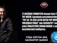 TRT'de Öğretmen Emrah Doğan'a Destek