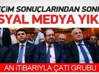 Seçim sonuçları sosyal medyada