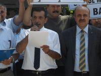 Ankara'da Müdür Kıyımına Protesto
