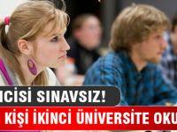 400 bin kişi ikinci üniversite okuyor