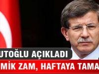 Davutoğlu: Akademisyenlere zam, bu hafta tamam