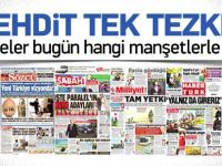 1 Ekim 2014 gazete manşetleri