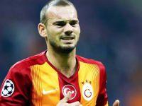 Sneijder'in menajeri o takımla görüştü!