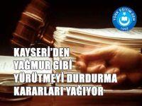 Kayseri'de Müdür Değerlendirmede 6 YD Kararı