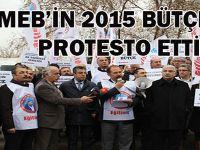 MEB'in 2015 Bütçesine Protesto