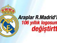 Araplar Real Madrid'e logosunu değiştirtti