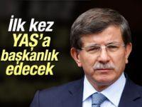 Başbakan Davutoğlu ilk kez YAŞ'a başkanlık edecek