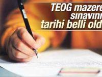 TEOG mazeret sınavlarının tarihi belli oldu