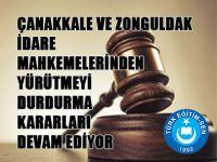 Müdür Değerlendirmede YD Kararı Çanakkale ve Zonguldak