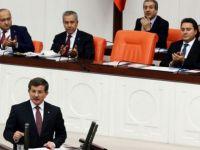 Davutoğlu Genel Kurul'da konuştu