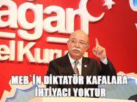 Koncuk: MEB'in Diktatör Kafalara İhtiyacı Yok