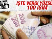 Maliye Bakanlığı vergi yüzsüzlerini açıkladı