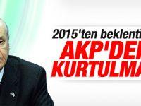 MHP Lideri Devlet Bahçeli yeni yıl mesajı yayımladı