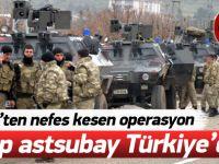 Kayıp astsubay Türkiye'de!