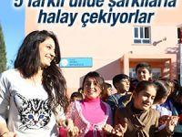 Mardin'de öğrenciler her teneffüste halay çekiyor