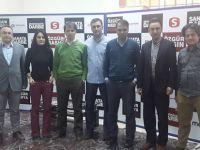 Aktif Eğitim Sen`den Gazetecilere Anlamlı Ziyaret
