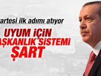 Erdoğan başkanlık sistemi ihtiyaçtır dedi