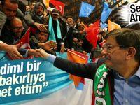 Başbakan Davutoğlu'nun Diyarbakır konuşması