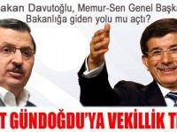 Ahmet Gündoğdu'ya Vekillik Teklifi