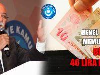 Memur Maaşı, Bir Ayda 46 Lira Eridi