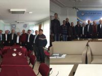 Ahmet Özer; Çorum, Amasya ve Tokat Teşkilatlarıyla Buluştu