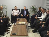Ahmet Özer; Afyonkarahisar ve Kütahya Teşkilatlarıyla Buluştu