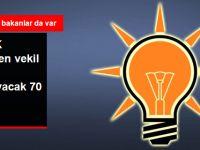 AK Parti'de Milletvekili Adayı Olamayacak İsimler