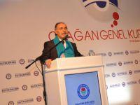 Ahmet Özer, Delegelere Hitap Etti