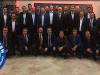 Hasan Yalçın Yayla'yı Ankara'ya Uğurladılar