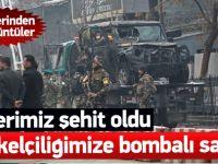 Kabil'de patlama: 1 Türk askeri şehit oldu