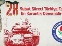 28 Şubat Süreci Türkiye Tarihinin En Karanlık Dönemidir