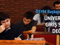 Üniversiteye Giriş Sistemi Değişiyor!