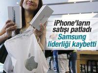Apple akıllı telefon pazarında lider oldu