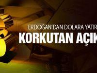 Erdoğan'dan dolar yatırımcısını korkutan açıklama