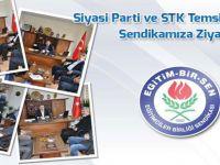 Siyasi Parti ve STK Temsilcilerinin EBS Ziyareti