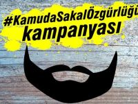 Sosyal medyada #KamudaSakalÖzgürlüğü kampanyası