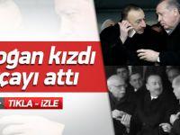 Erdoğan'ı kızdıran protokol hatası