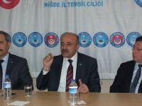 TeS Yöneticileri Niğde ve Kırşehir'de