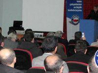 Latif Selvi, Erzurum Teşkilatıyla Bir Araya Geldi