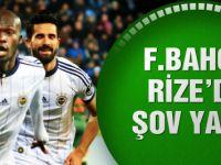 Fenerbahçe Çaykur Rizespor'u devirdi