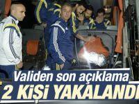 Fenerbahçe'ye saldırıyla ilgili 2 kişi gözaltında