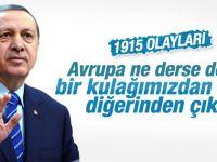 Cumhurbaşkanı Erdoğan'dan Kazakistan öncesi açıklama