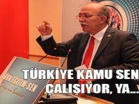 Türkiye Kamu Sen Çalışıyor, Ya...