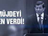Başbakan Davutoğlu'ndan iki müjde birden!