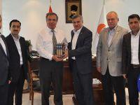 Eğitim-Bir-Sen'den ÖSYM Başkanı Ömer Demir'e ziyaret